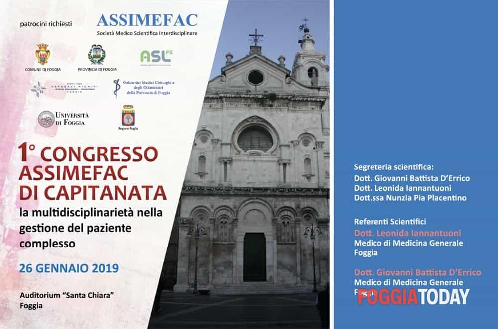 ASSIMEFAC – Foggia 26.01.2019: Primo Congresso di Capitanata