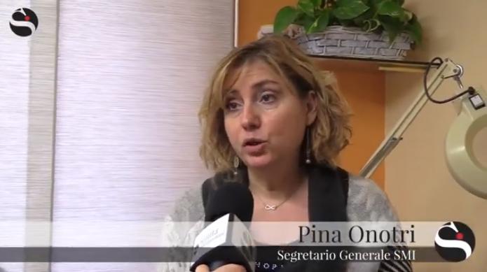 Video – Intervento Segretario Generale SMI Pina Onotri a Sanità Informazione – 14.01.2019