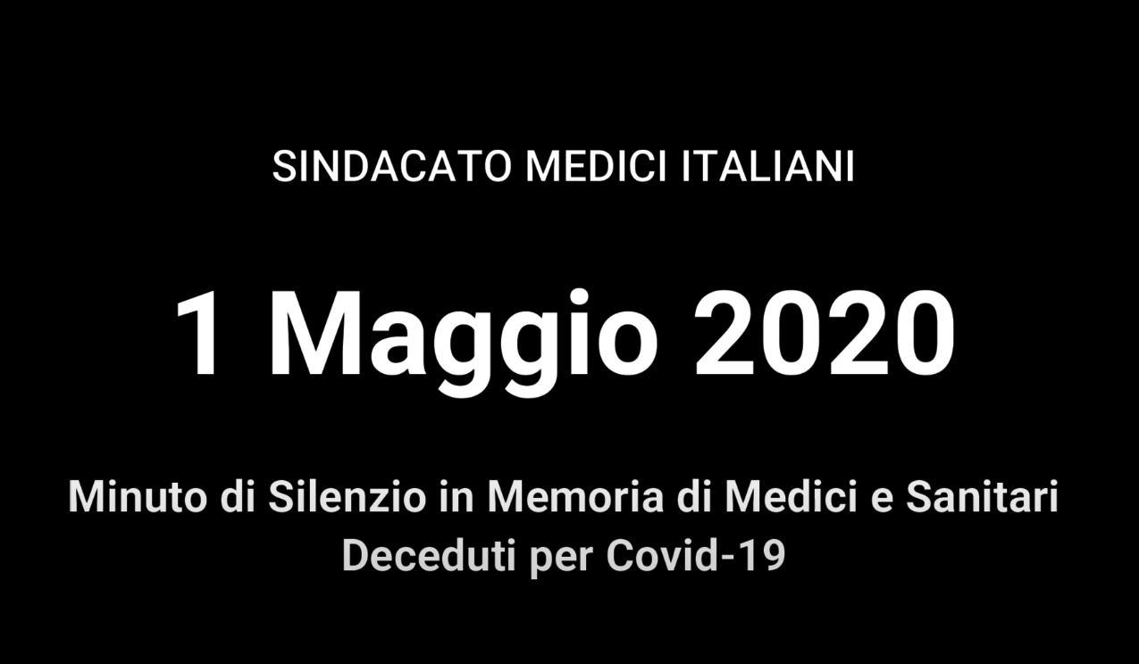 Video – 1 Maggio 2020: Minuto di Silenzio
