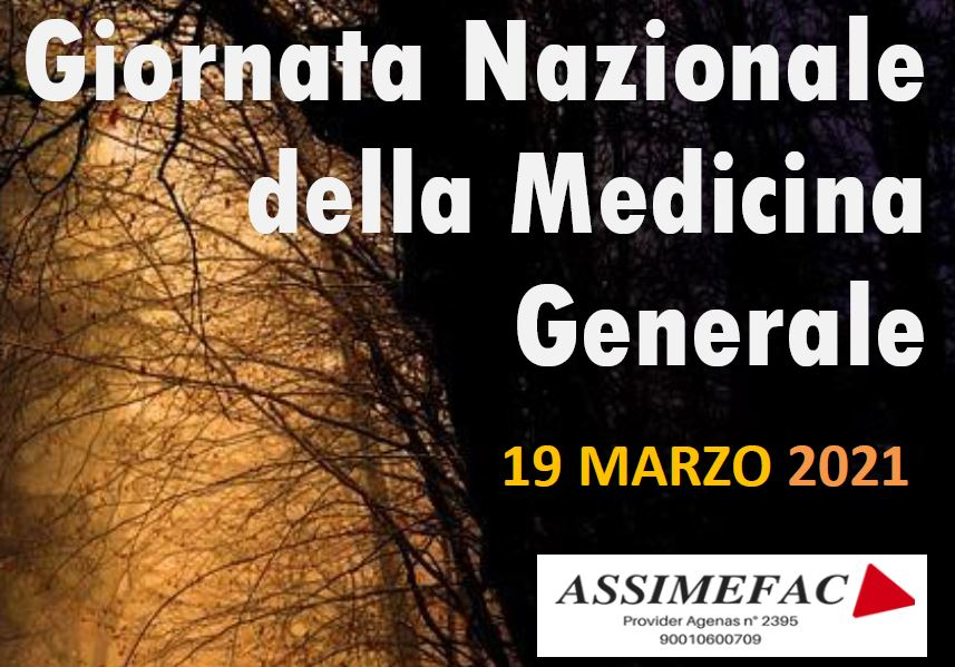 Giornata Nazionale della Medicina Generale – 19 Marzo 2021
